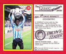 Coventry City Dave Bennett